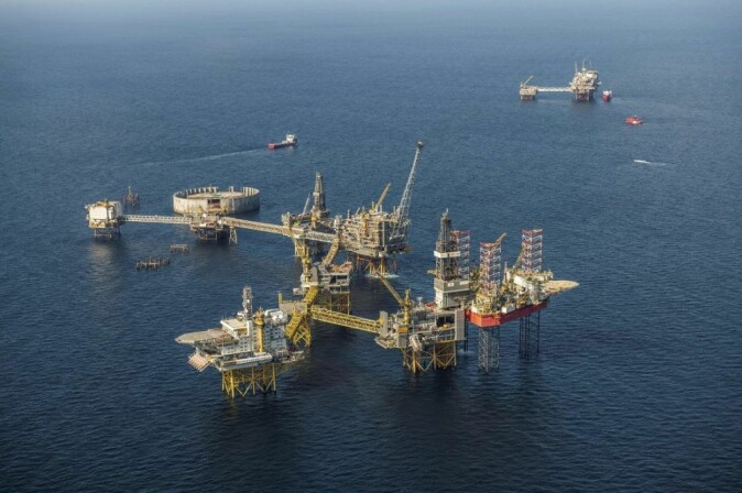 Ekofisk, the world's largest offshore oil field when it was discovered by Phillips Petroleum Co. in 1969. Photo: ConocoPhillips