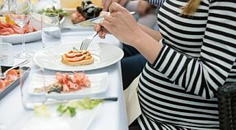 Bare en av tre gravide følger kostholdsrådene for omega-3