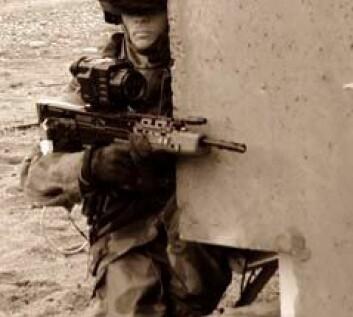 Når soldatene må velge mellom sikkerheten til andre soldater eller sivile, velger alle å beskytte egne styrker. (Foto: FFI)