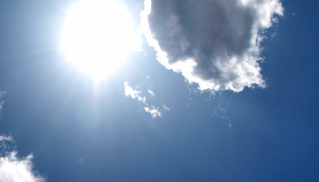 Skydannelse med kosmisk stråling