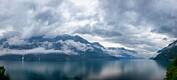 Da forrige istid tok slutt, smeltet breen i Hardangerfjorden med opptil ti meter per dag