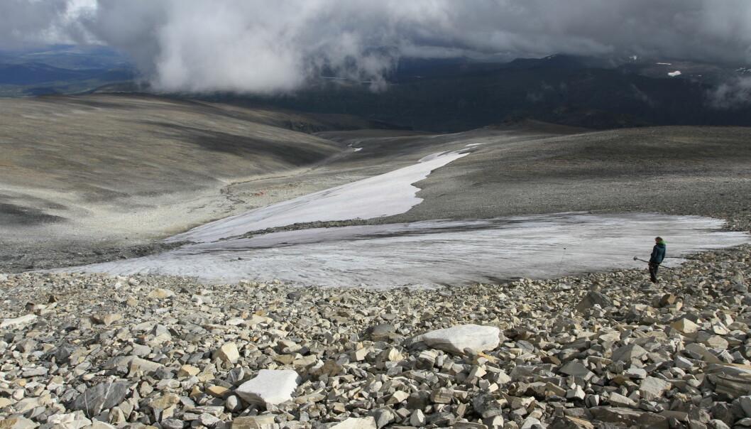 Dette er Langfonne, hvor det har blitt jaktet rein på nesten samme måte i flere tusen år.
