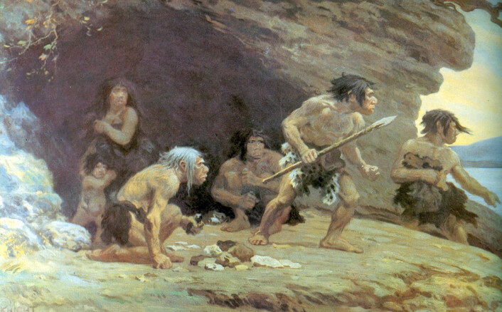 (Foto: (Illustrasjon: Charles R. Knight, Wikimedia Commons))