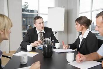Det er like vanlig for menn som for kvinner å ha en androgyn lederstil. (Illustrasjonsfoto: www.colourbox.no)