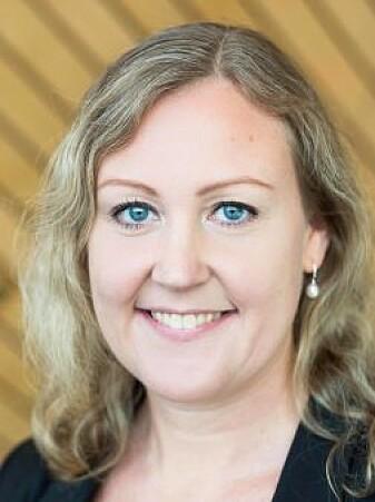 Forskar Kristine Haddeland har forska på bruk av teknologistyrte pasientdokker i undervisninga av sjukepleiarstudentar.