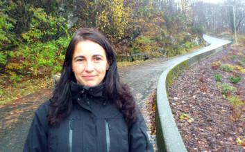 Yngvild Sørebø Danielsen, postdoktor ved Universitetet i Bergen. Hun leder studien som skal utføres ved Haukeland universitetssykehus, der atferdsterapi skal benyttes i fedmebehandling av barn. (Foto: Andreas R. Graven)