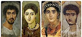 Da Romerriket gikk mot slutten fikk over tusen mennesker malt portrettene sine i en oase i Egypt