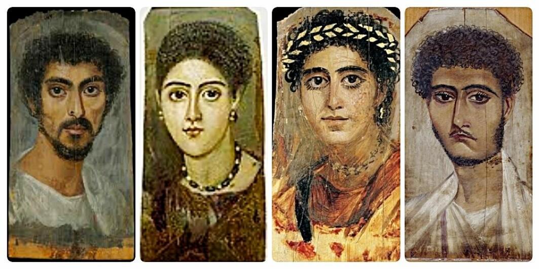 Fayum-portrettene ble «oppdaget» av engelske arkeologer på 1800-tallet. Men lenge etterpå ble de oversett, fordi de ikke kunne knyttes direkte til faraoenes Egypt. De tilhørte heller ikke gresk eller romersk kunst.