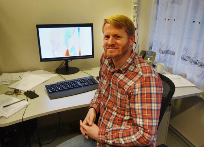 Saman med ei gruppe forskarar frå Noreg, Danmark, Sverige og Portugal har Morten Mattingsdal kartlagt genmaterialet til leppefisken grøngylt i Noreg.
