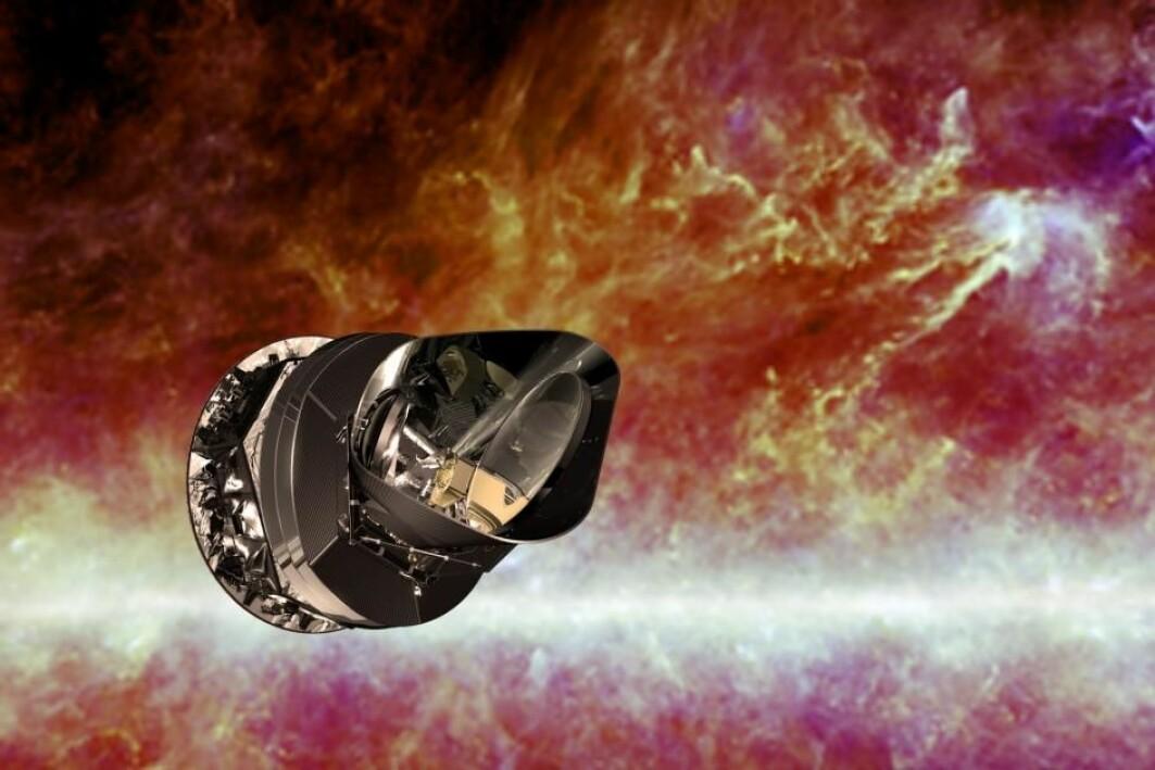 Romteleskopet Planck har samlet data om den kosmiske bakgrunnsstrålingen. Forskere har brukt dataene til å utvikle metoder som kan gi svar på spørsmålet om hvordan universet oppsto, om mørk materie og om mørk energi.
