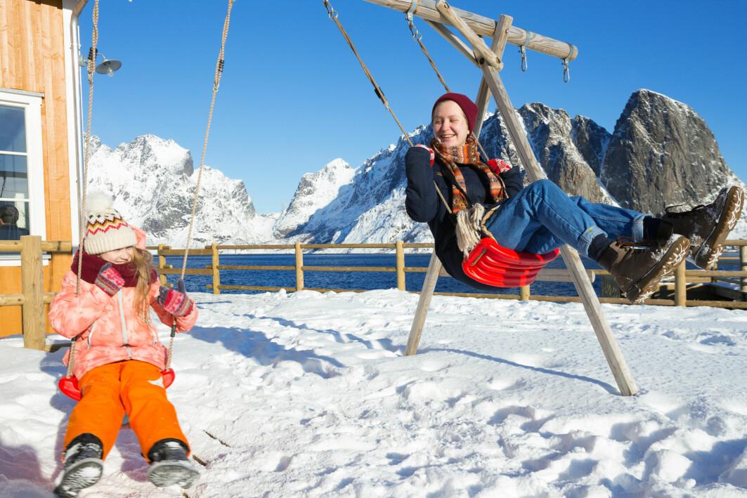 Lykkelege i nord: Landa i Norden blir ofte rangert på topp i FNs lykkeindeks.
