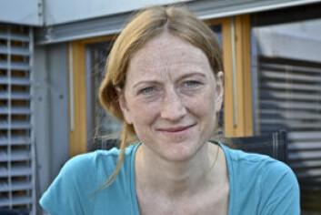 Ingebjørg Vestrum (37) har selv jobbet som frivillig på to av festivalene som en del av forskningen sin. Foto: Trude Landstad, Nordlandsforskning