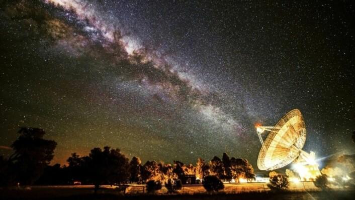 Melkeveien er trolig stappfull av planeter som ligner på vår egen. (Foto: Wayne England)