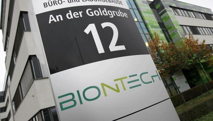 Tyske Biontech jobbet mye med kreftvaksiner før pandemien, ifølge forsker Tor Kristian Andersen.