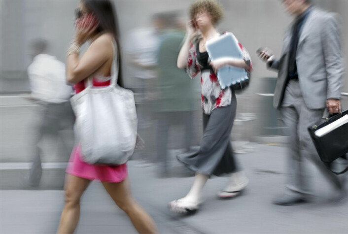 Blodomløpet i kroppen vår beskytter oss mot overopphetning. Spørsmålet er om det også beskytter oss mot mobilstråling. (Foto: Colourbox)