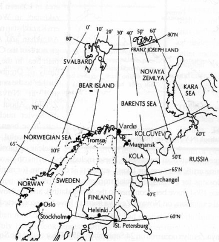 """Prøvesprengningene på Novaja Zemlja har skapt bekymring i nordiske land."""