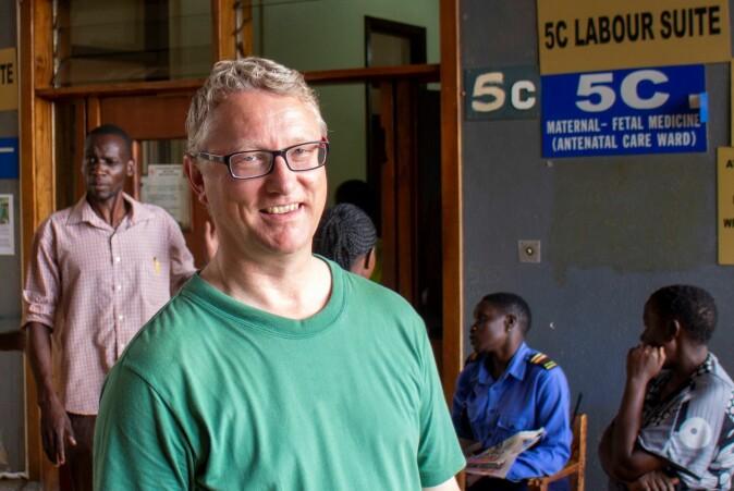 Professor Thorkild Tylleskär ved Senter for internasjonal helse, Institutt for global helse og samfunnsmedisin.