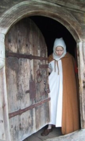 "Bildet er hentet fra spelet ""Jenta på Staveloftet"". (Foto: Hallingdal Museum)"
