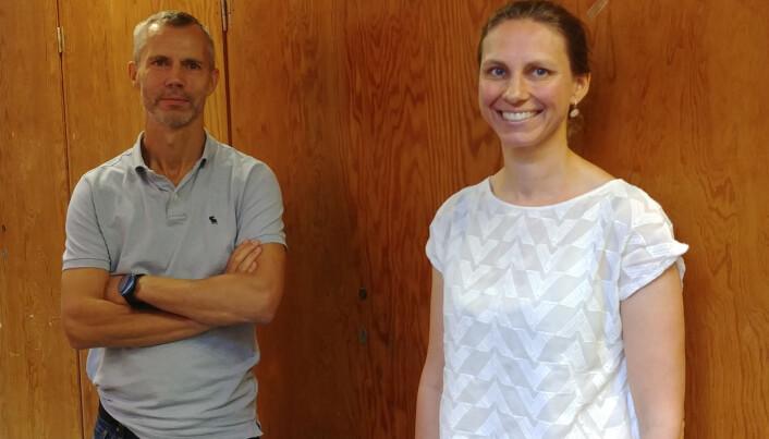Leon Reubsaet and Trine Grønhaug Halvorsen.