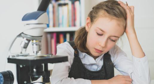 Norske ungdomsskoleelever har mye lavere kompetanse i naturfag sammenlignet med våre nordiske naboland