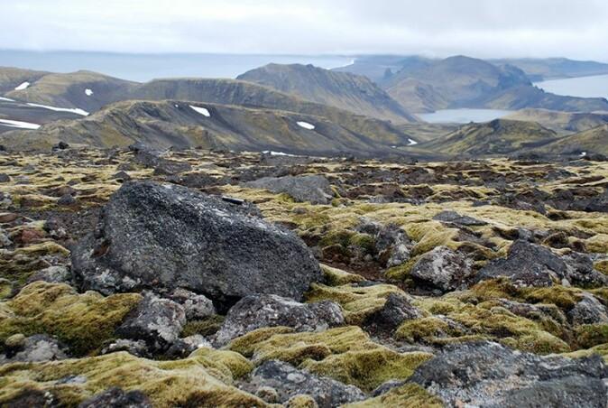 Flyttblokker på moreneflater er en sikker indikasjon på at overflaten har vært dekket av is.
