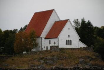 Trondenes kirke utanfor Harstad. (Foto: Sigrun Høgetveit Berg)