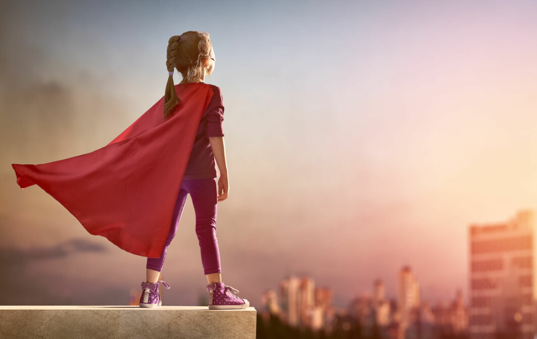 I drømmen er det jo den naturligste ting å være superhelt som kan fly. Men hvordan lager hjernen slike irrasjonelle forestillinger?