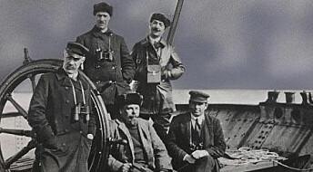 Lite patriotisme i tidlig havforskning