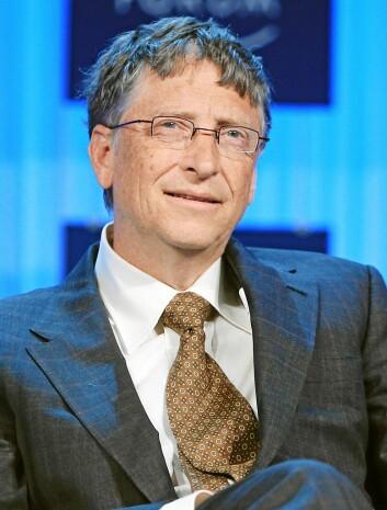 Bill Gates står bak Reinvent the Toilet-programmet. (Foto: World Economic Forum)