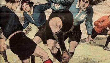 Åtte typiske skader i en fotballkamp