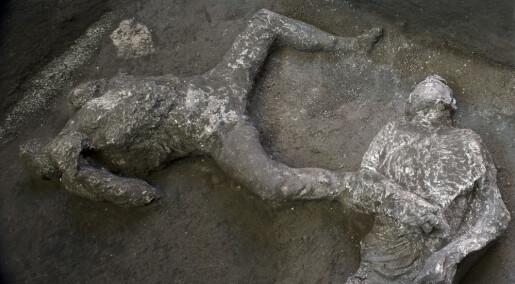 Arkeologer har funnet to nye ofre etter vulkanutbruddet i Pompeii