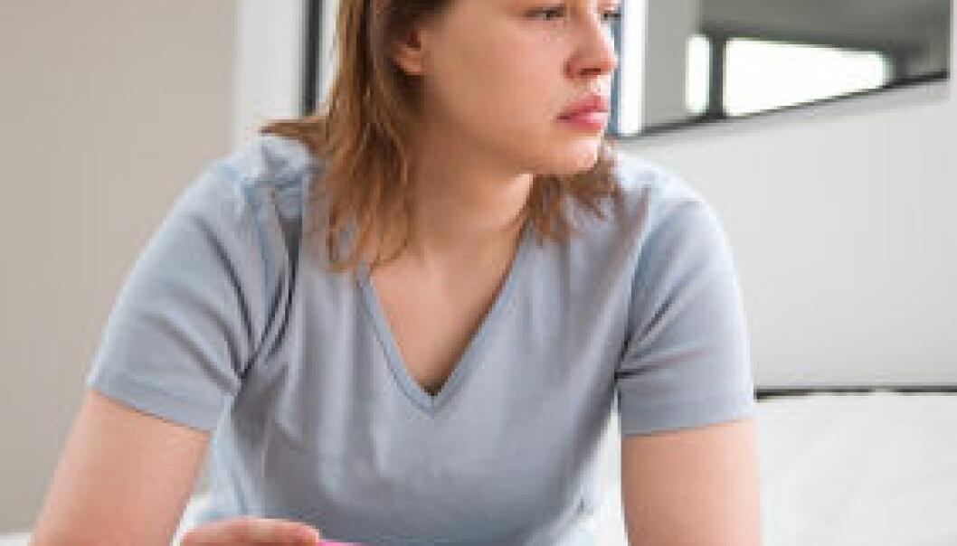 Uønsket graviditet er en risikofaktor for psykiske plager. Abort i seg selv gir ikke økt risiko. (Illustrasjonsfoto: iStockphoto)