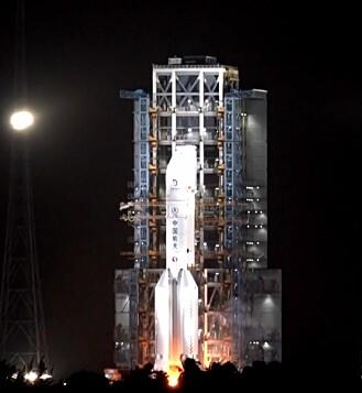 Sonden ble fraktet av Long March-5 Y5-raketten, som ble skutt opp den 23. november.
