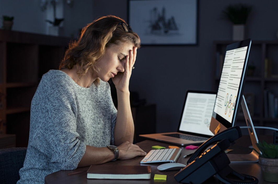En liten studie antyder at folk som tidligere har blitt rammet av betydelig stress, opplever symptomene som mer voldsomme enn det man kan måle.