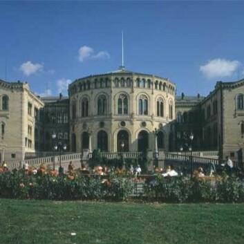 Stortinget. (Foto: Stortingsarkivet/Teigens Fotoatelier)