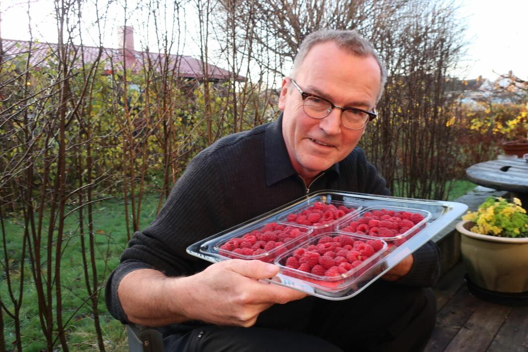 For bringebærnæringa er kartlegginga av den genetiske samansetjinga til bringbæret ein ressurs, seier Forskar Jahn Davik ved NIBIO.