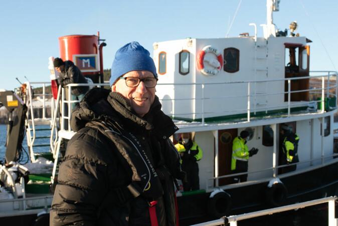 Viserektor ved NTNU i Gjøvik, Jørn Wroldsen, har vært en pådriver for å få i gang samarbeidet med kartlegging av Mjøsa.