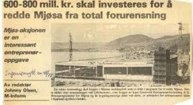 Faksimile fra Ingeniørnytt, 1977.