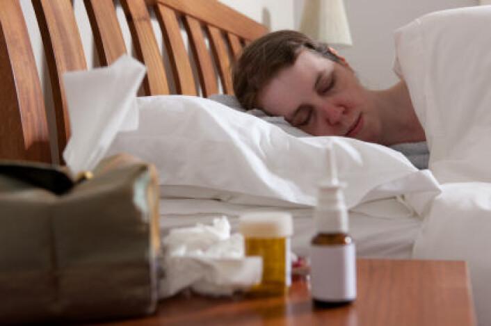 Nordmenn har god helse, men er mest borte fra jobben på grunn av sykdom. (Foto: iStockphoto)