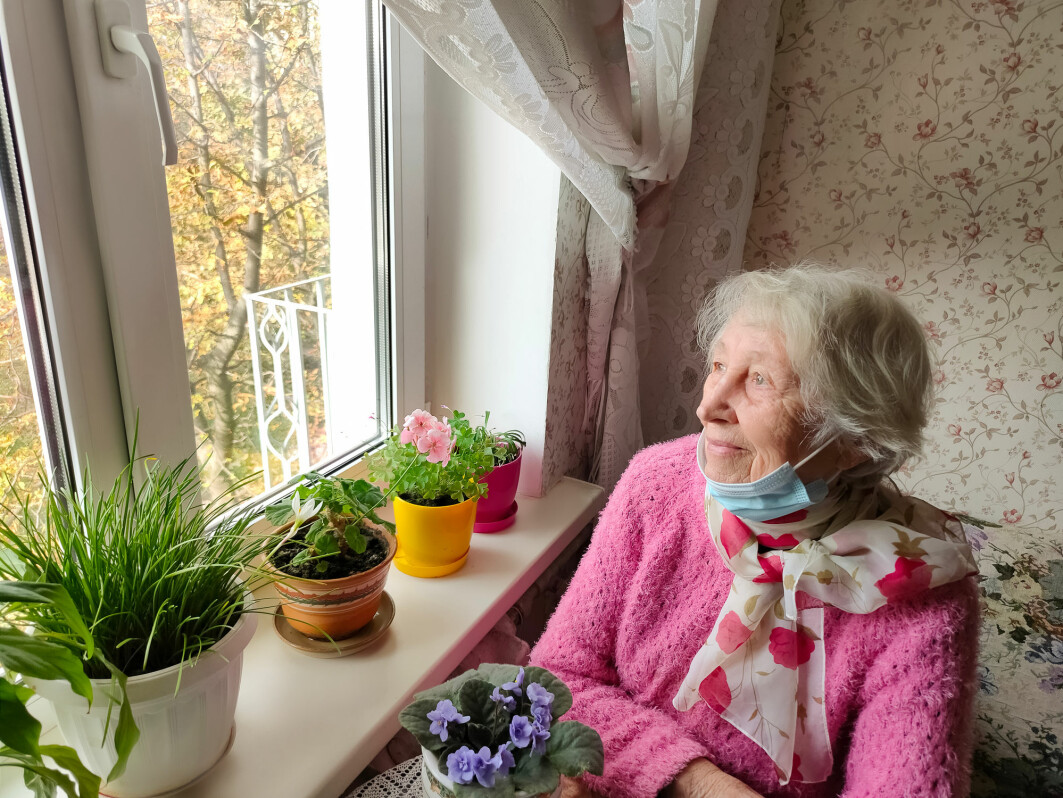 En norsk studie blant eldre pasienter med psykiatriske diagnoser, viste at få av dem var redde for koronasmitte.