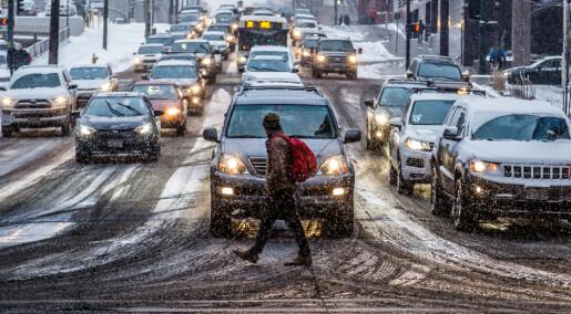 Folk som bor i områder med mye luftforurensing, har mer plakk i hjernen