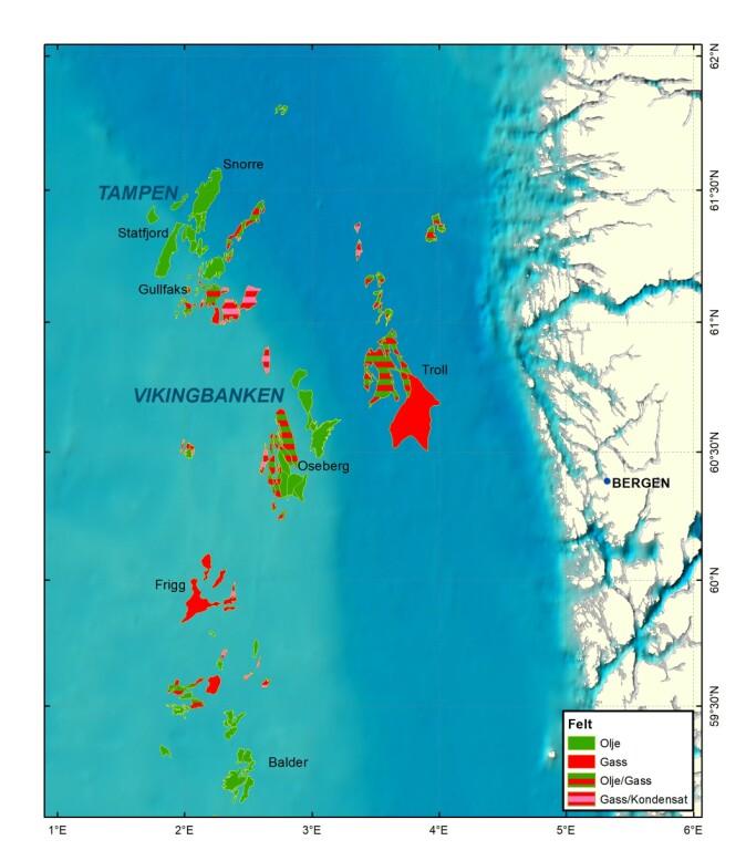 Tampenområdet er en samling av olje- og naturgassfelt med tilhørende infrastruktur beliggende på norsk kontinentalsokkel i nordlige del av Nordsjøen.