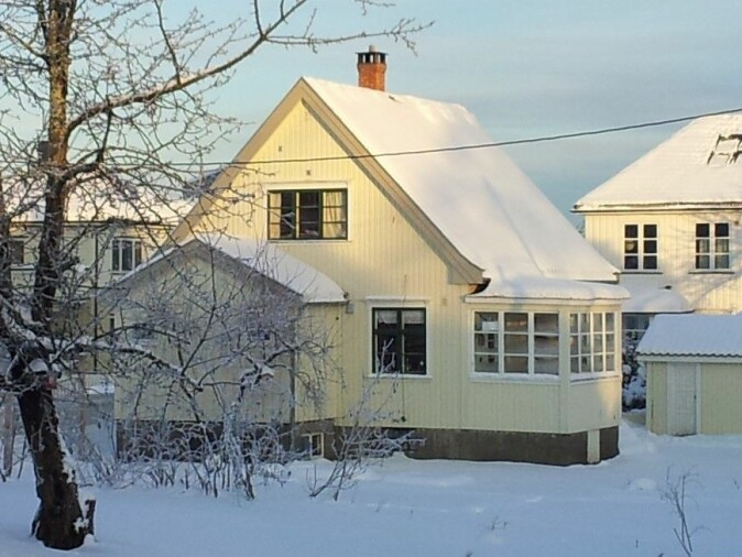 Villa Dammen er den eldste bygningen som er med i studien
