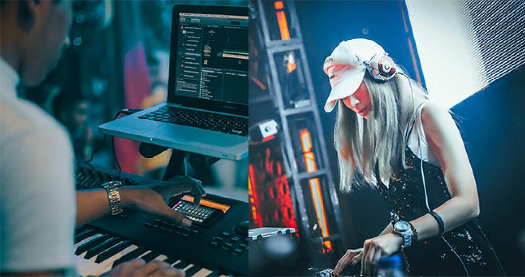 Med ny teknologi for nettverksbasert konserter kan man spille elektronisk musikk over internett fra ulike steder.