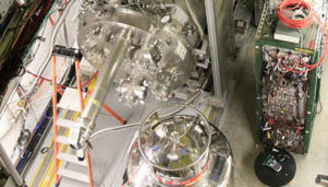 I antimaterie-fabrikken