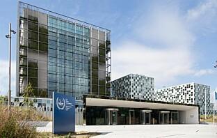 Bilde av Den internasjonale straffedomstolen i Nederland. Her får krigsforbrytere dommen sin.