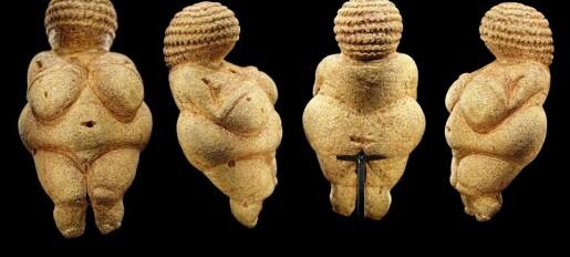 Ny teori om venusfigurene: Overvekt kan ha vært ideal under harde kår i istiden