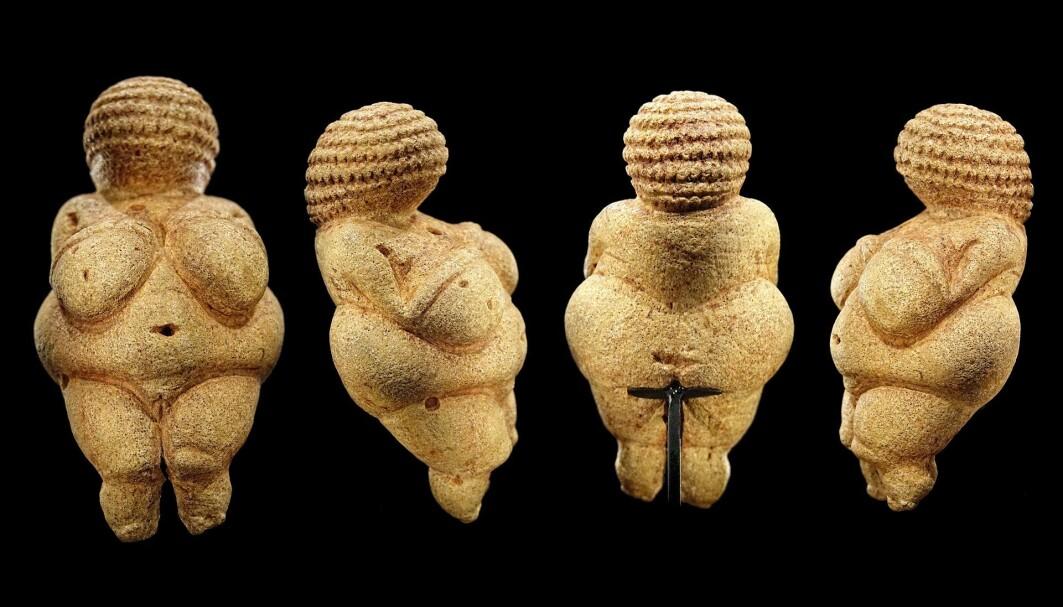 Kvinnefigurer fra steinalderen har blitt funnet rundt i Europa. Det er ukjent hva de betyr.