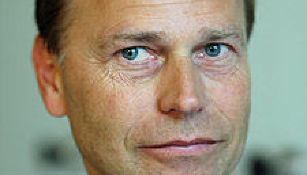 """""""Førsteamanuensis Lars Glasø sier at det å forske på personlighetsprofilen til mobbeoffer, har vært noe mange mobbeforskere har vegret seg for. (Foto: Lars Holger Ursin)"""""""