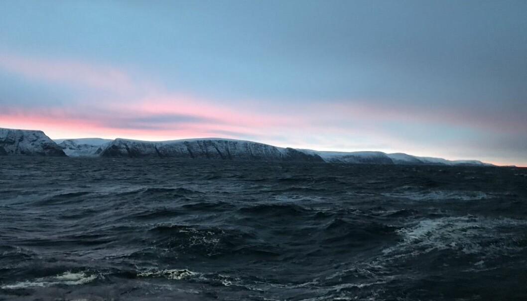 Finnmarkskysten i pastell